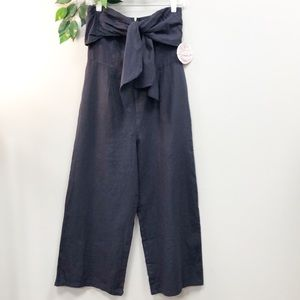 NWT Gypsie & Moondust | Navy Sailor Linen Romper